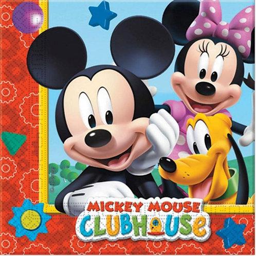Guardanapos Casa do Mickey Mouse