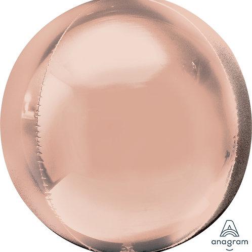 Balão Orbz Ombre Rosa Gold