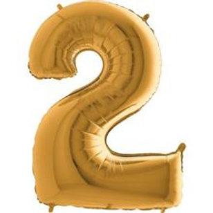Balão Nº 2 Dourado