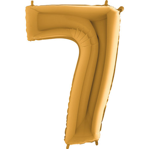 Balão Nº7 Dourado