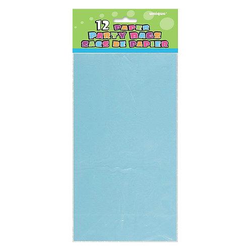 Saco de Lembranças de Papel Azul