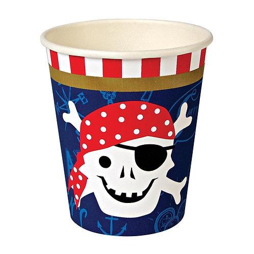 12 Copos Pirata