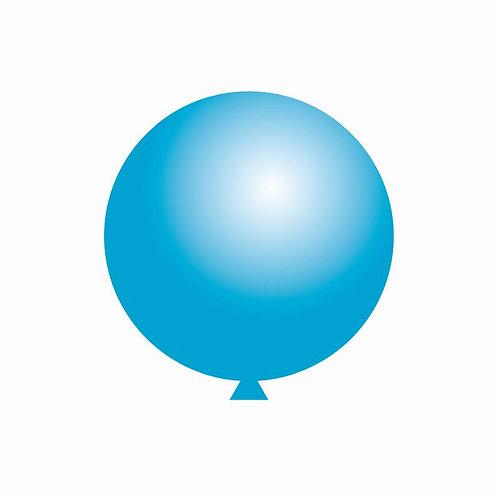 Balão Látex Azul Claro 60 cm