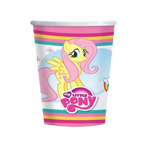 8 Copos My Little Pony