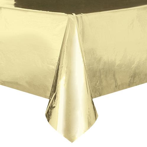 Toalha Dourada Metalizada