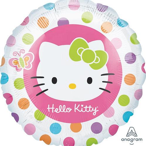 Balão Foil Redondo Hello Kitty