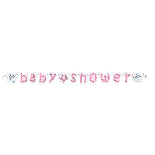 Grinalda Baby Shower Rosa