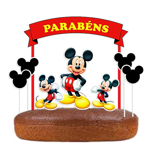 Topo Bolo Mickey