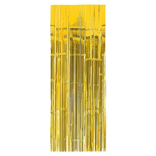 Grinalda Vertical Fitas Dourada