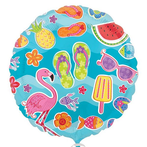 Balão de Foil Imagens de Verão