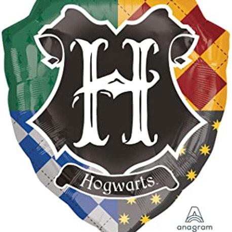 Balão foil Hogwarts Harry Potter