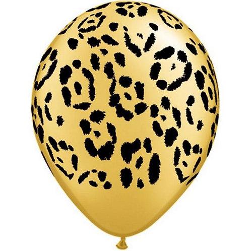 Balão de Látex Selva Padrão Leopardo