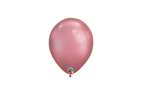 Balão Látex Chrome Mauve