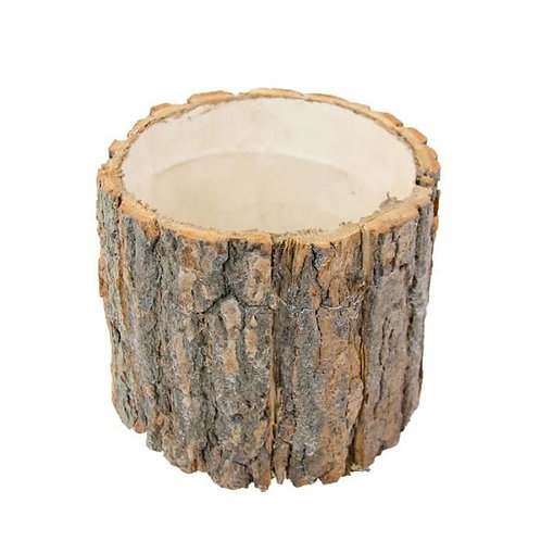 Suporte em madeira redondo
