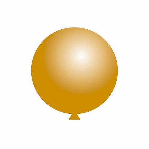Balão Látex Ouro 60 cm