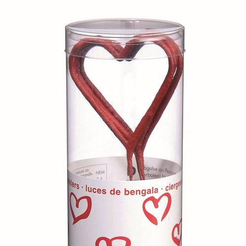 Sparkle Coração Vermelho Mini