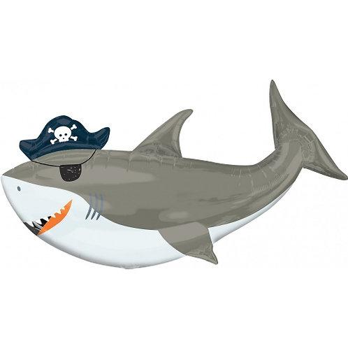 Balão foil tubarão