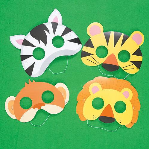 Máscaras Animais da Selva