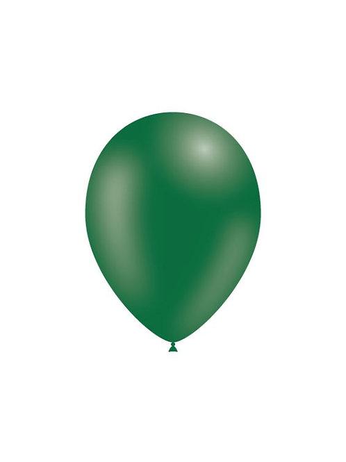 Balão Látex Verde Escuro