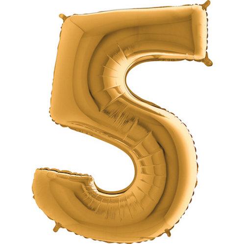 Balão Nº5 Dourado