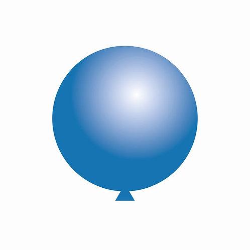 Balão Látex Azul Escuro 60 cm