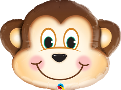 Balão Foil Selva Macaco