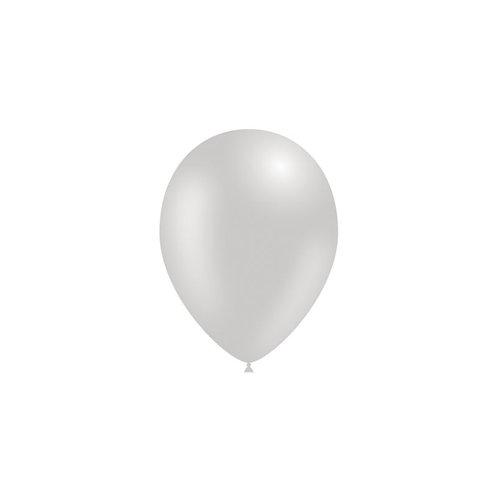Balão Látex Metalizado Prateado