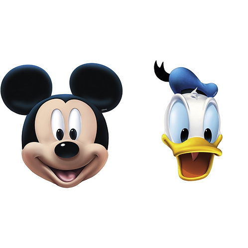Máscaras Mickey e Donald