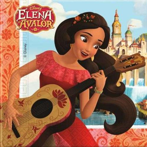 Guardanapos Elena Avalor