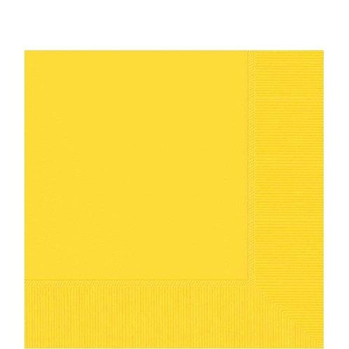 Guardanapos Amarelo (Pequeno)