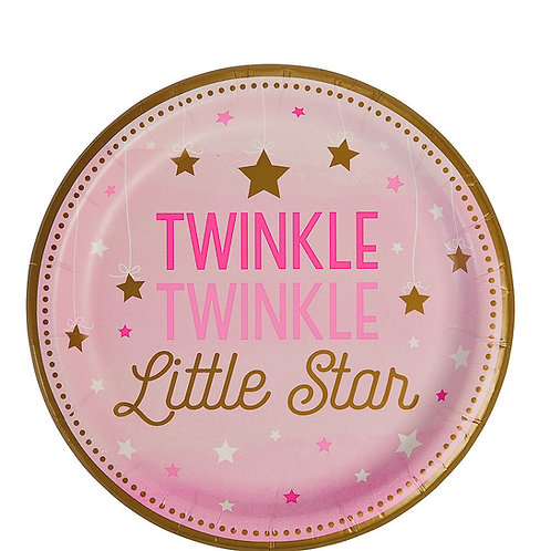 8 Pratos Twinkle twinkle little star