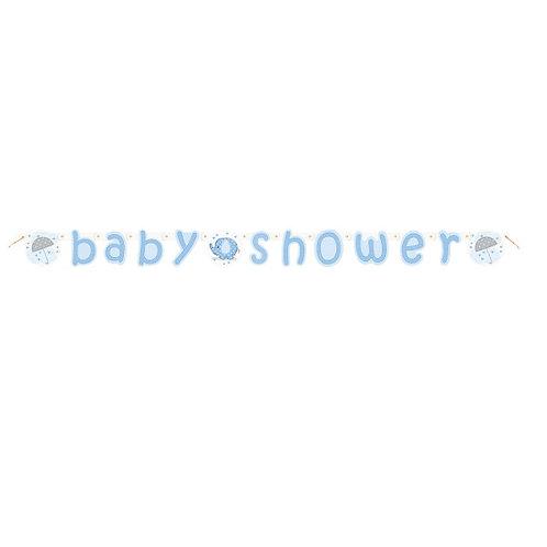 Grinalda Baby Shower Azul