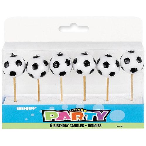 Velas Bolas de Futebol
