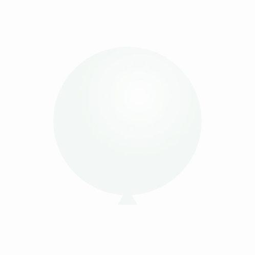 Balão Látex Branco  60 cm