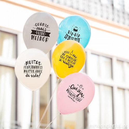 Balões Aniversário