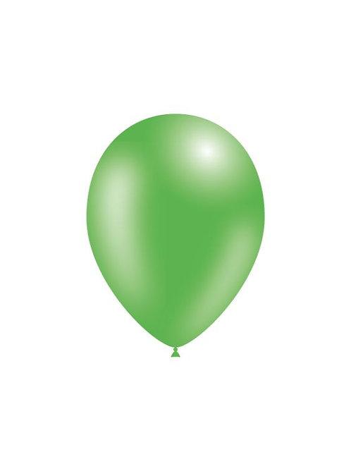 Balão Látex Metalizado Verde Médio