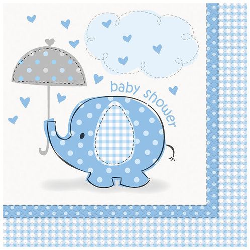 Guardanapo Baby Shower Azul
