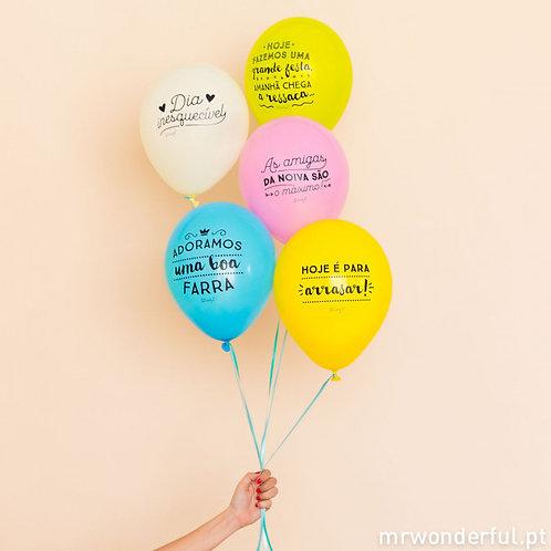 Balões Despedida de Solteira