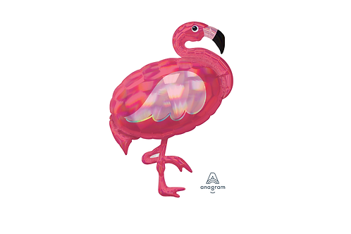 Balão de Foil Supershape Flamingo