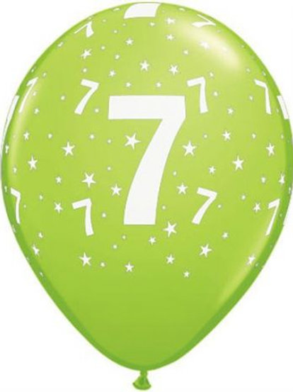 Balão Látex Nº7 Verde