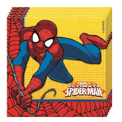 Guardanapos Spider-Man