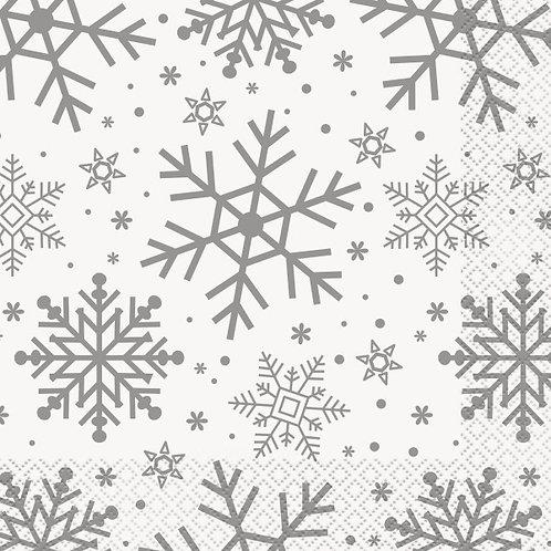 Guardanapos Flocos de Neve