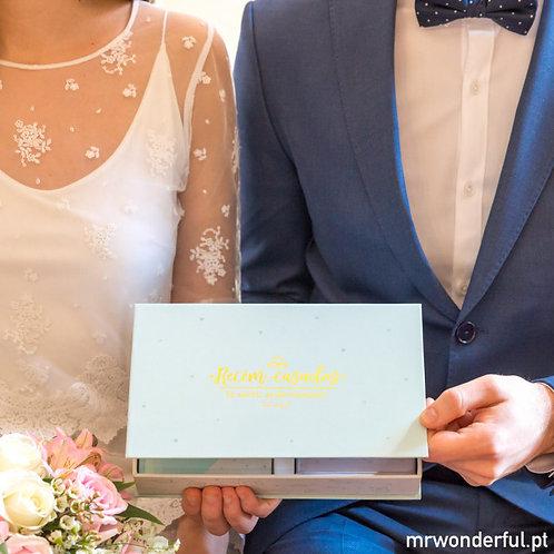 Conjunto de presentes para recém-casados (e afortunados)