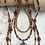 Thumbnail: 4 Strand Dream Horse Necklace