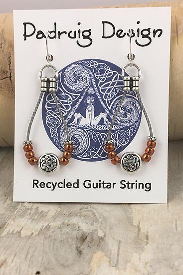 Siam Bass String Earrings