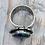 Thumbnail: Blue Tri Fitheach Ring