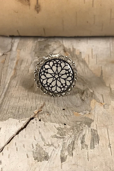 Troyes Star Ring Large
