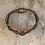 Thumbnail: Copper 3 Circle Blue Brown Bass String Bracelet