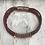 Thumbnail: Leather Acoustic Guitar String Bracelet Brown