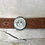 Thumbnail: Silver Sun, Moon, & Stars Tooled Natural Leather Bracelet